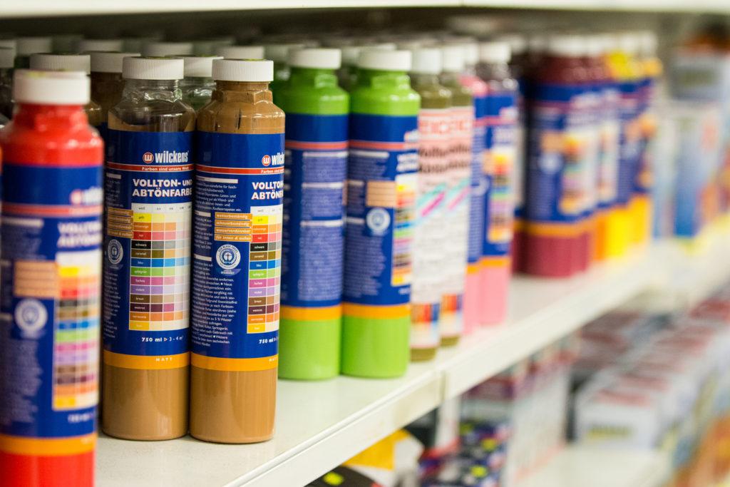 Farben für Tapeten