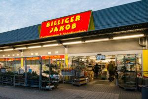 Das Ladenlokal Billiger Jakob